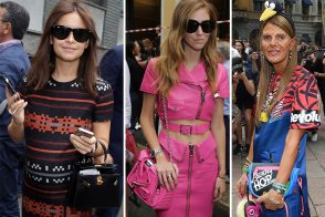 30 Bags and the Celebs Who Carried Them at Milan Fashion Week Spring 2015
