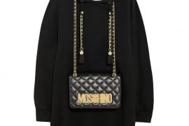 Moschino Embellished a Sweatshirt With an Actual Handbag