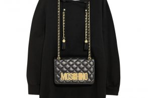 Moschino Embellished a Sweatshirt With an Actual Handbag