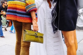 The Best Bags of New York Fashion Week Spring 2015 Street Style – Days Seven & Eight