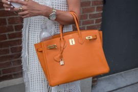 The Best Bags of New York Fashion Week Spring 2015 Street Style – Day Three
