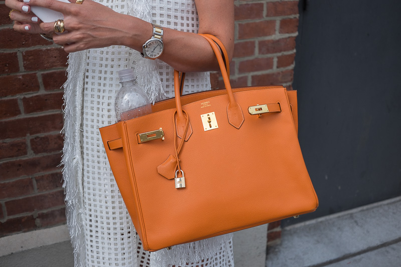 0a23c682466 The Best Bags of New York Fashion Week Spring 2015 Street Style – Day Three