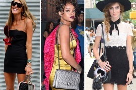 New York Fashion Week Celebrity Bags Spring 2015