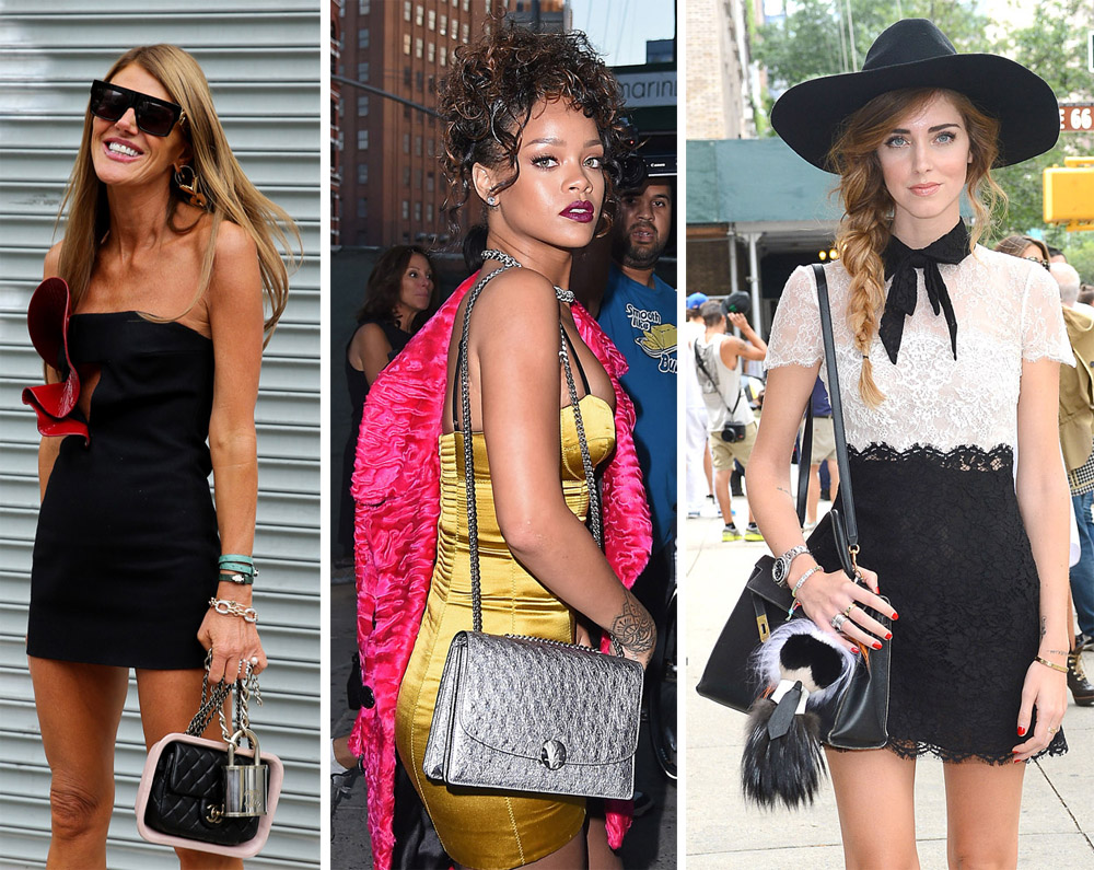 60 Bags And The Stars Who Carried Them At New York Fashion Week Spring 2015 Purseblog