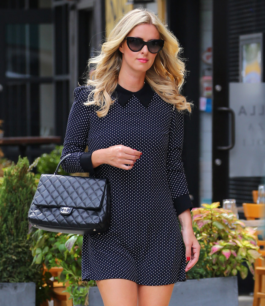 Nicky Hilton Chanel Kelly Bag-1