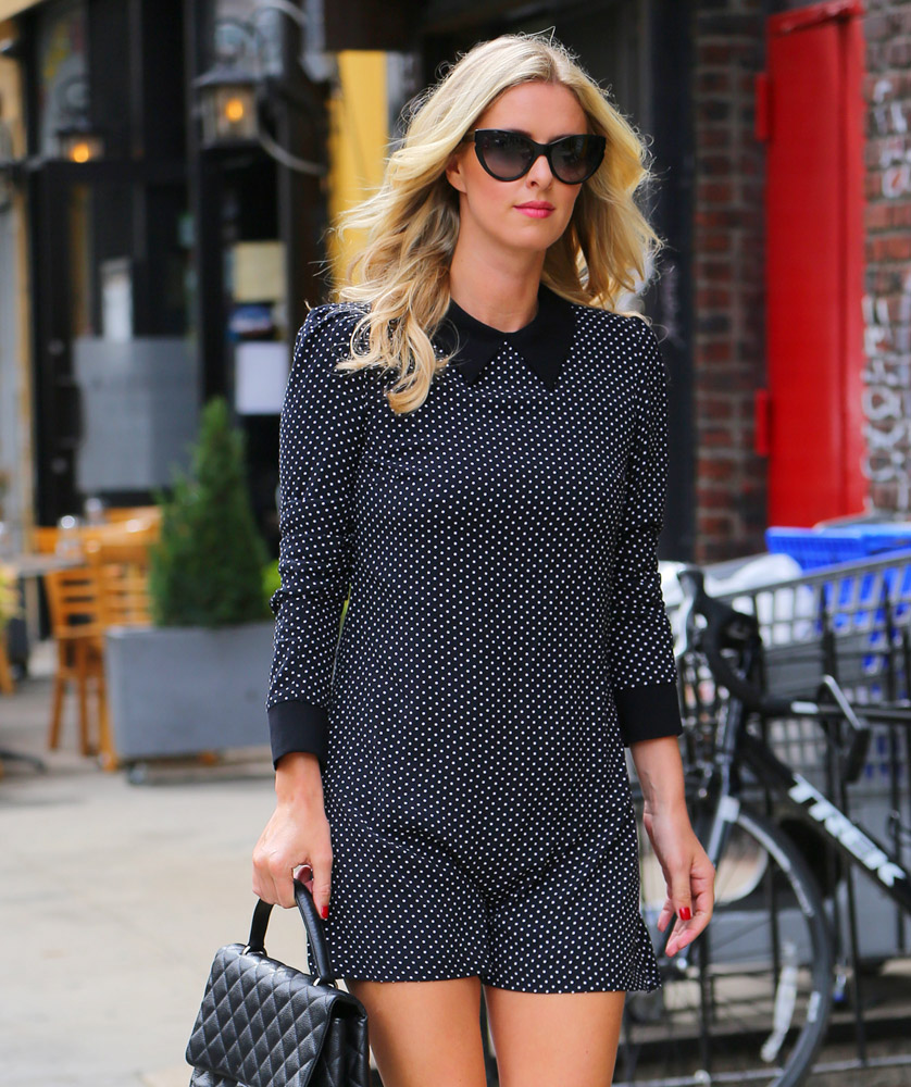 33f42706d5f Nicky Hilton Carries a Classic Chanel in NYC - PurseBlog