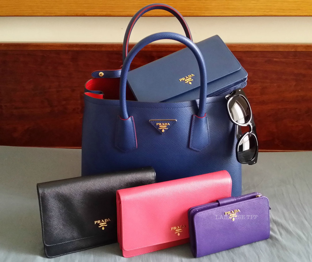Prada Saffiano Bag Family