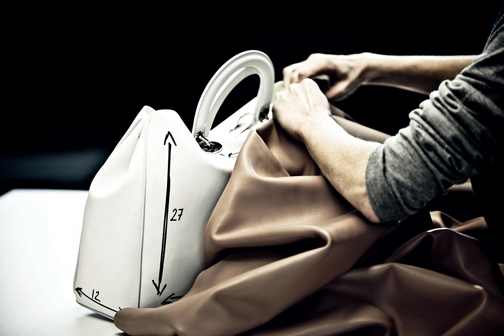 The Making of A Christian Dior Handbag 1