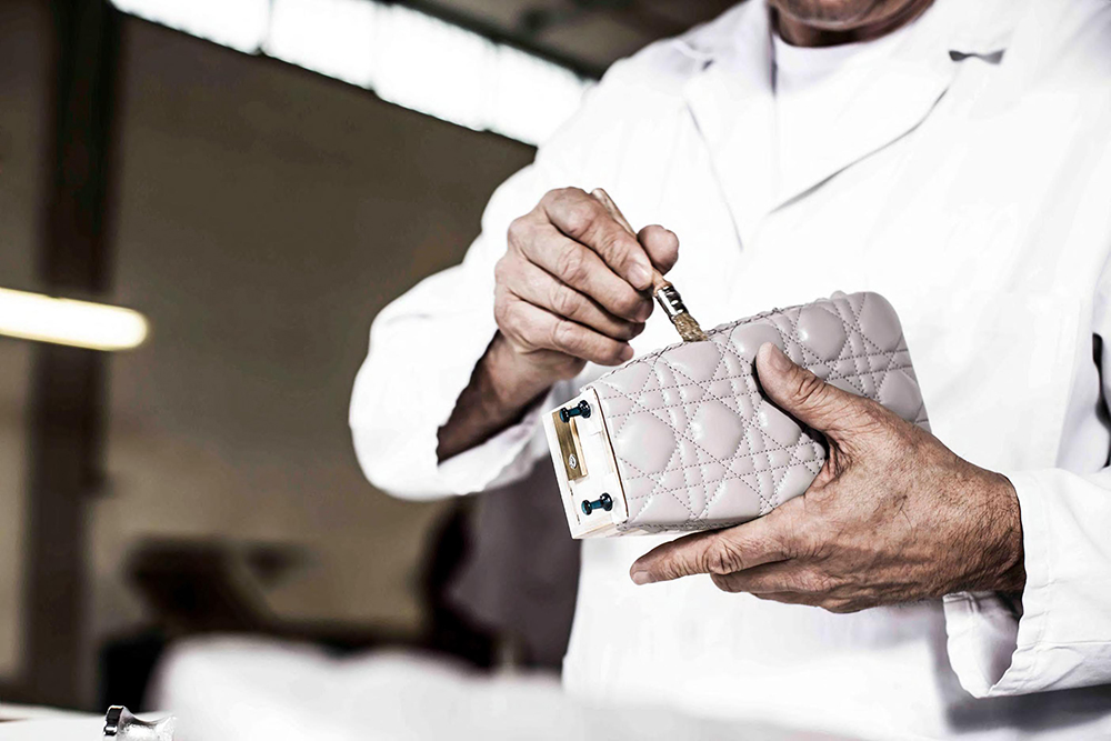 The Making of A Christian Dior Handbag 10