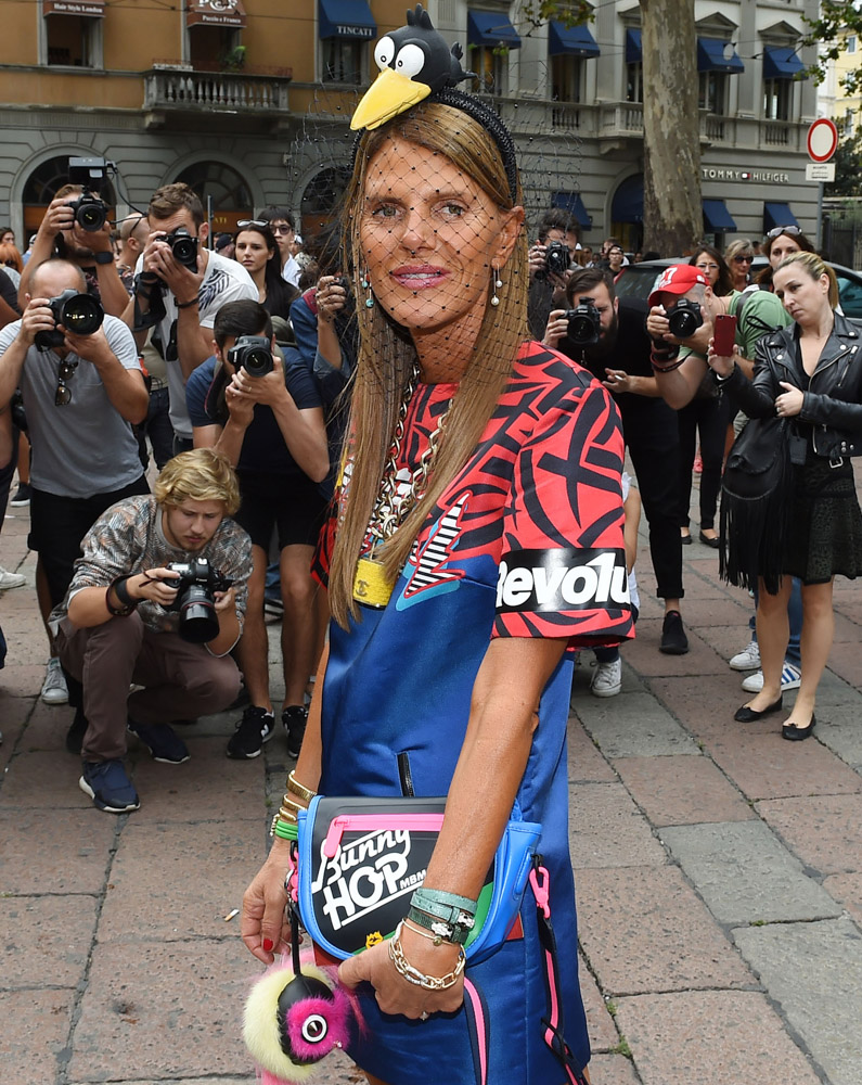 The Many Bags of Celebrities at Milan Fashion Week Spring 2015-1