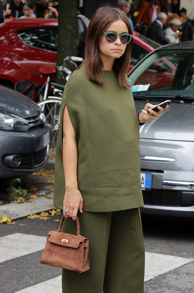 The Many Bags of Celebrities at Milan Fashion Week Spring 2015-18