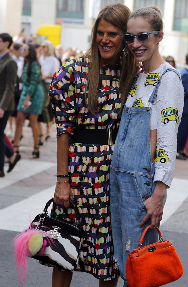 The Many Bags of Celebrities at Milan Fashion Week Spring 2015-25
