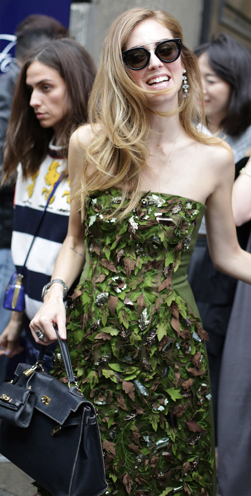 The Many Bags of Celebrities at Milan Fashion Week Spring 2015-3