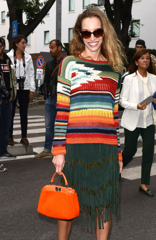 The Many Bags of Celebrities at Milan Fashion Week Spring 2015-5