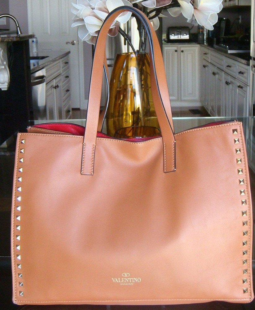 Low Price Fee Shipping Valentino Rockstud shopper tote 100% Guaranteed Cheap Online t8FWaA