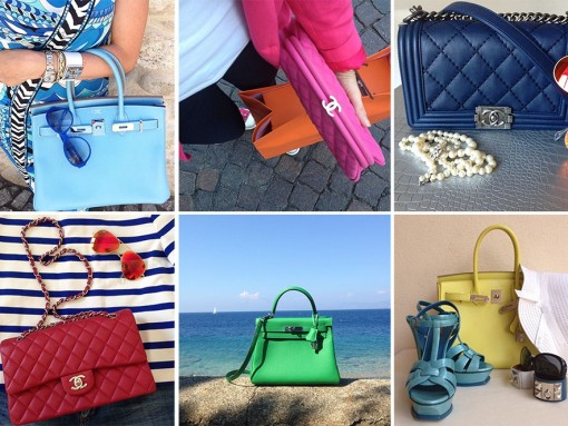 Instagram Handbag Celebrity: @bibi2cuori