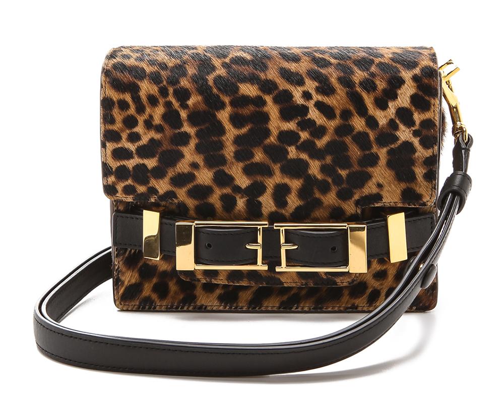 ALC Davenport Leopard Shoulder Bag