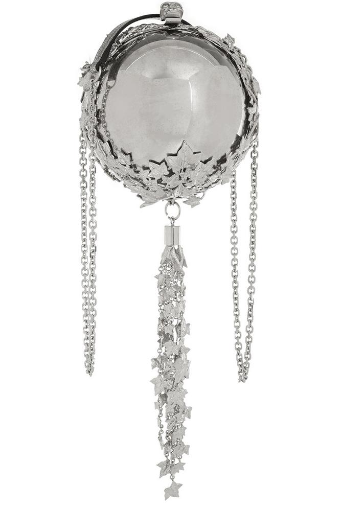 Alexander McQueen Sphere Tasseled Clutch