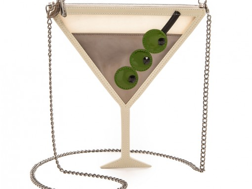 Alice and Olivia Martini Crossbody Pouch