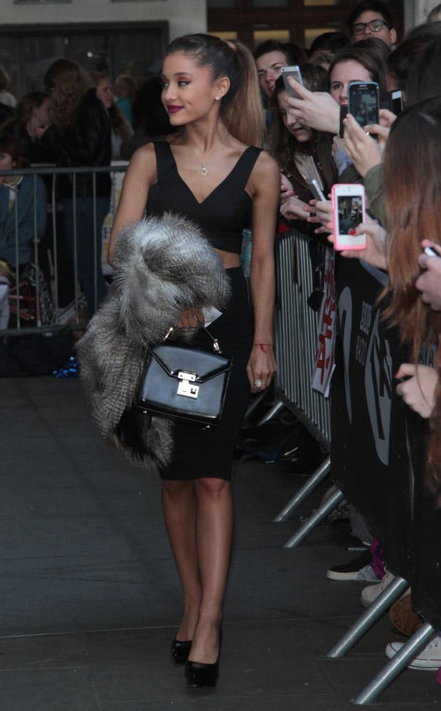 Ariana Grande Rebecca Minkoff Paris Top Handle Bag-1