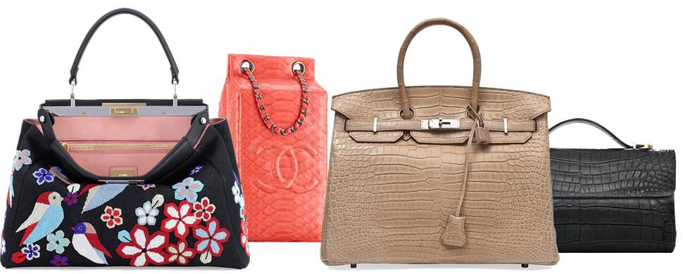 Bags for National Handbag Day