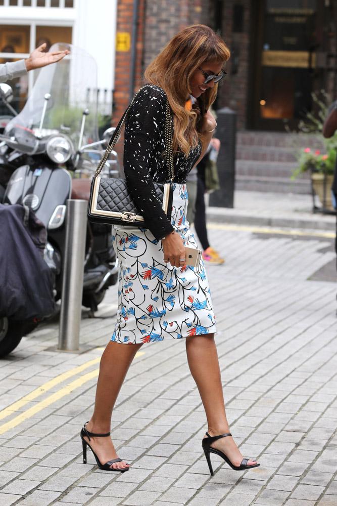 Beyonce Chanel Boy Bag-5