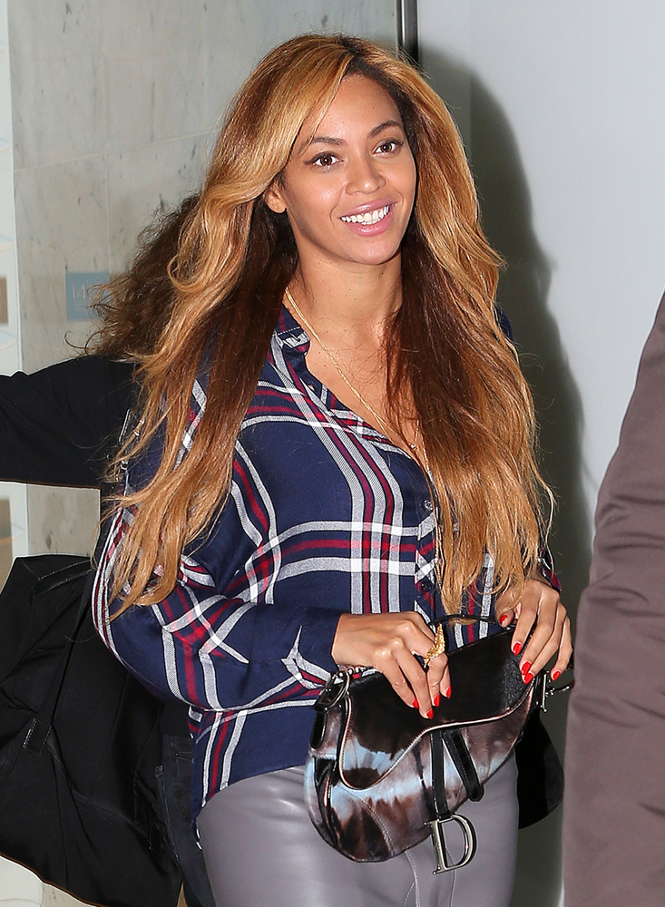 Beyonce Christian Dior Saddle Bag 1