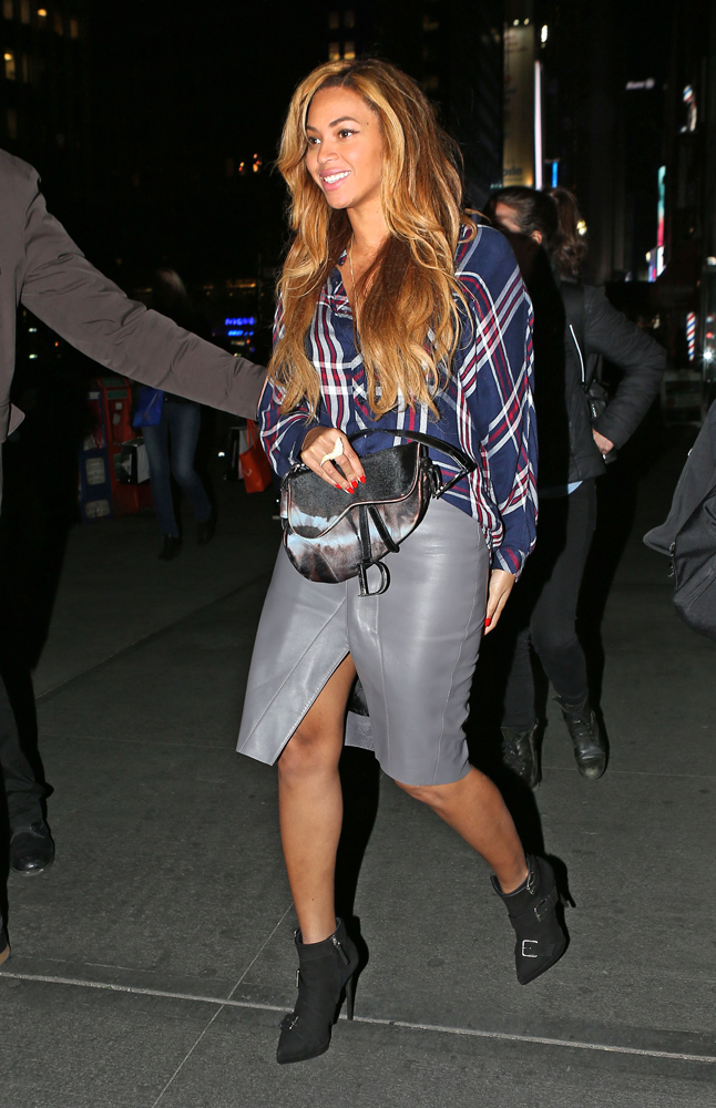 Beyonce Christian Dior Saddle Bag 2