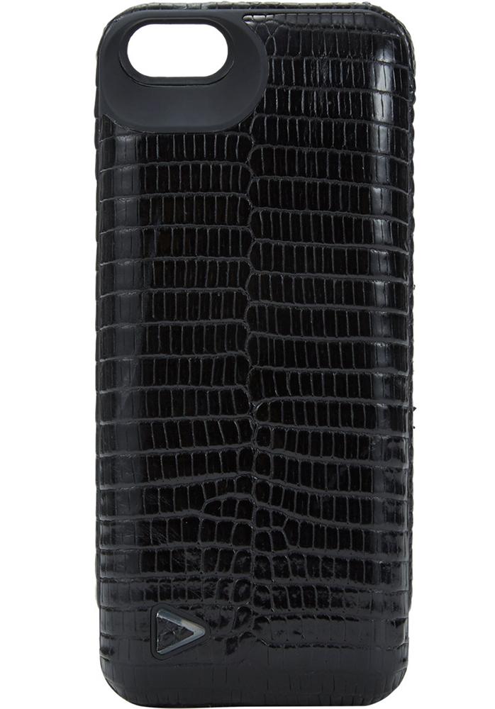 Boostcase Hybrid Black Lizard iPhone Charging Case