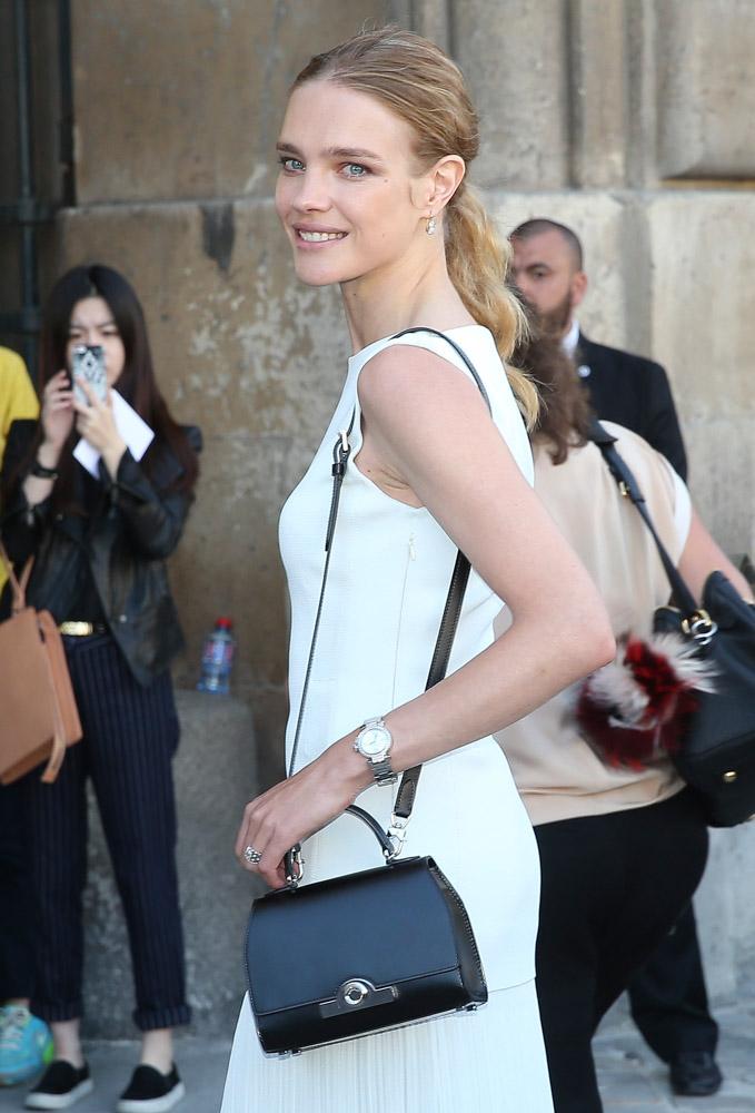 Celebrity Handbags Paris Fashion Week Spring 2015-18