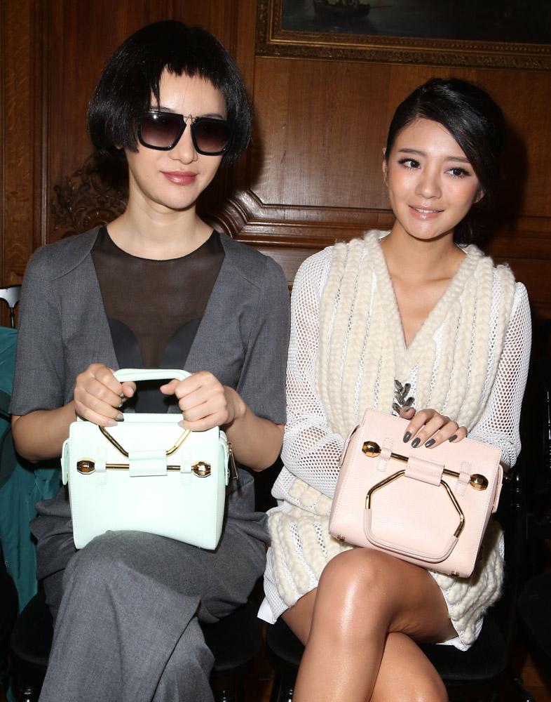 Celebrity Handbags Paris Fashion Week Spring 2015-28