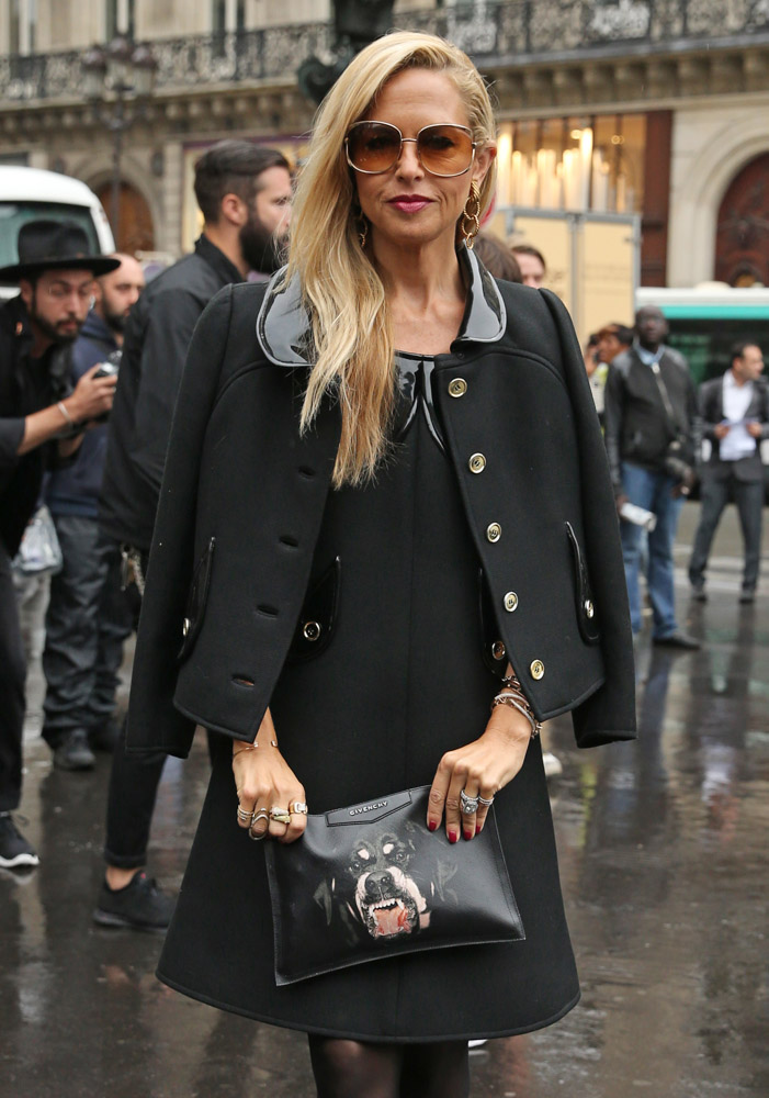 Celebrity Handbags Paris Fashion Week Spring 2015-32