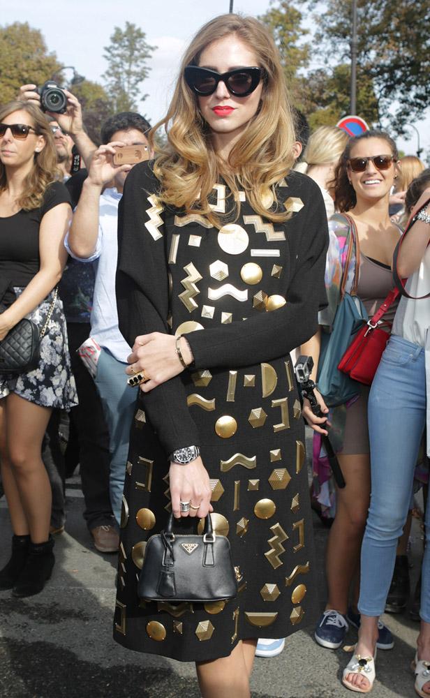 Celebrity Handbags Paris Fashion Week Spring 2015-33