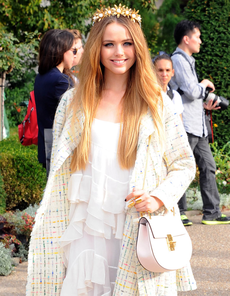 Celebrity Handbags Paris Fashion Week Spring 2015-34