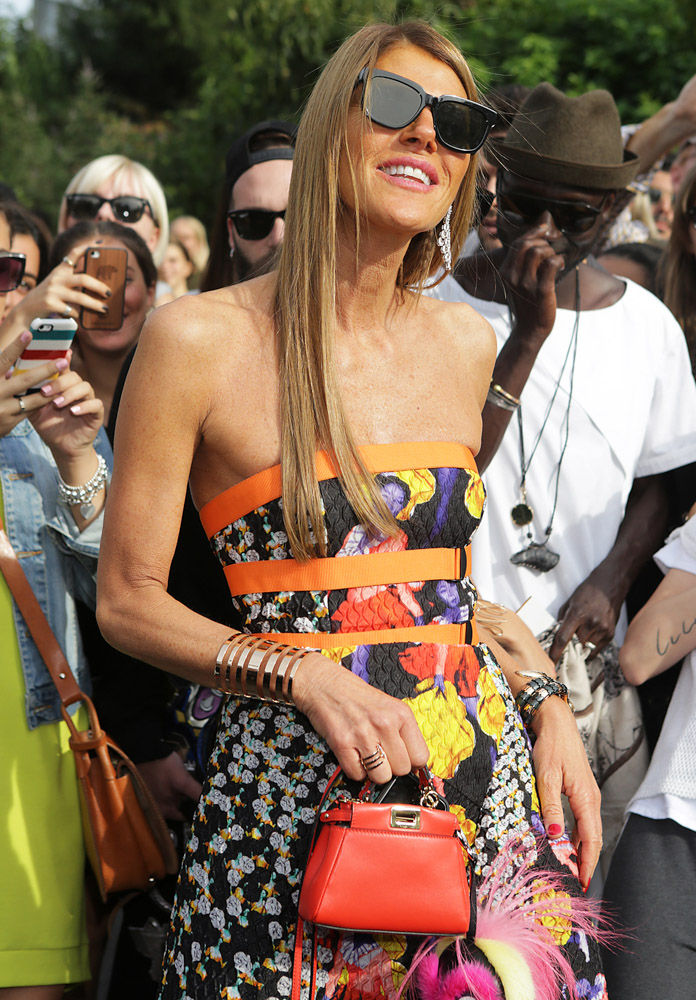 Celebrity Handbags Paris Fashion Week Spring 2015-35