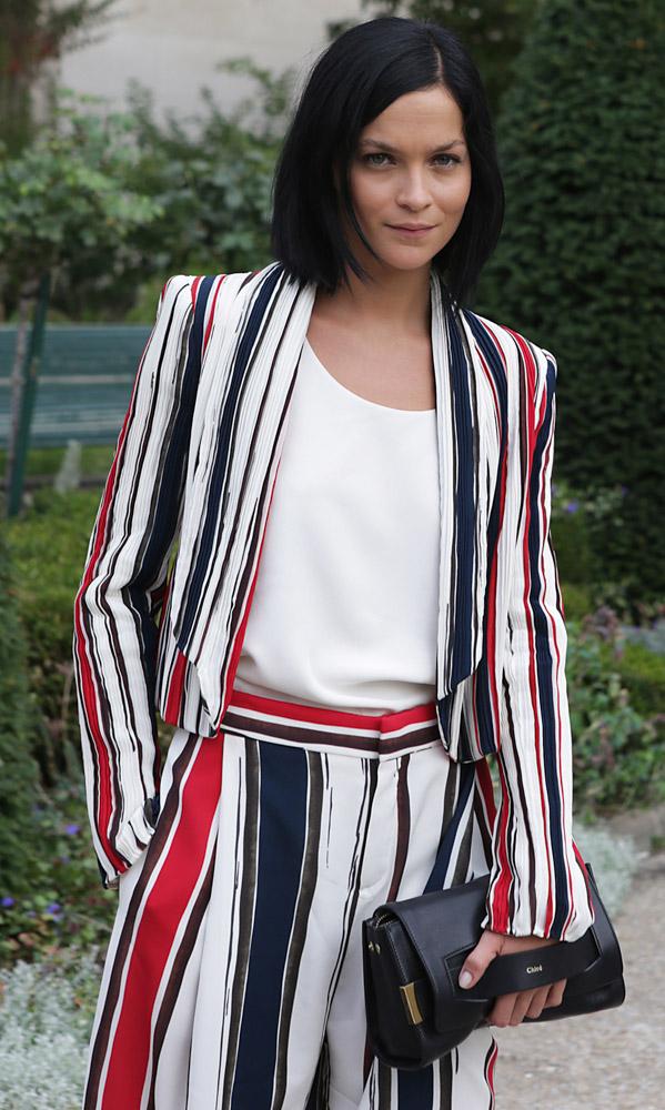 Celebrity Handbags Paris Fashion Week Spring 2015-36