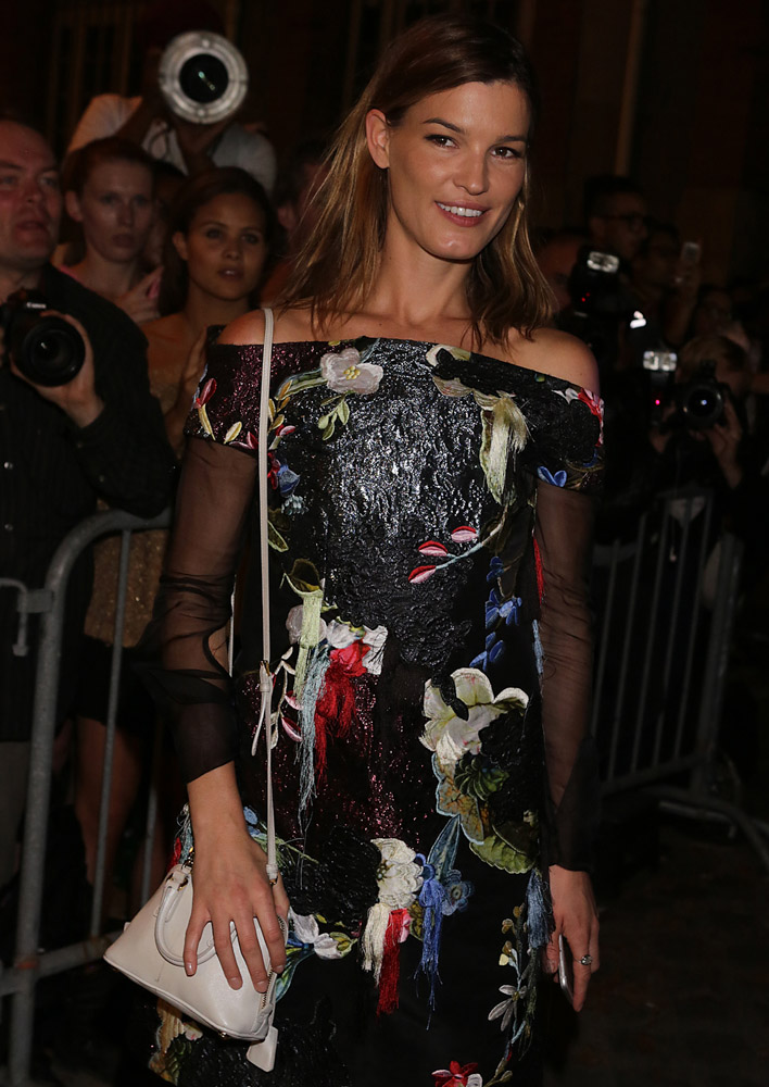 Celebrity Handbags Paris Fashion Week Spring 2015-38