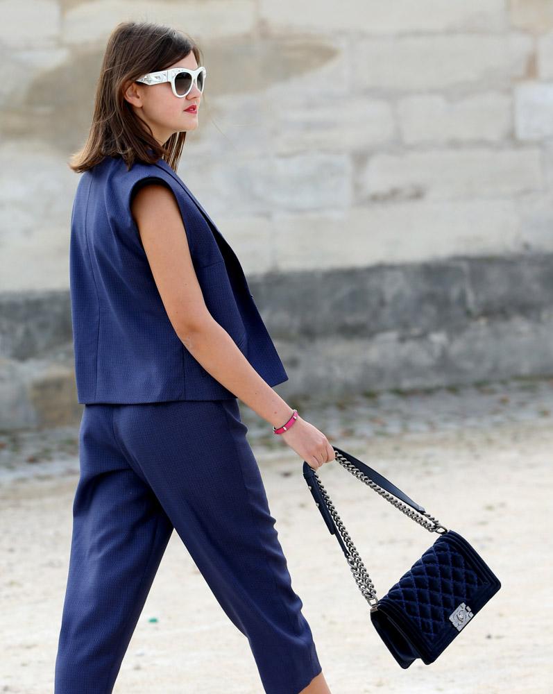 Celebrity Handbags Paris Fashion Week Spring 2015-39