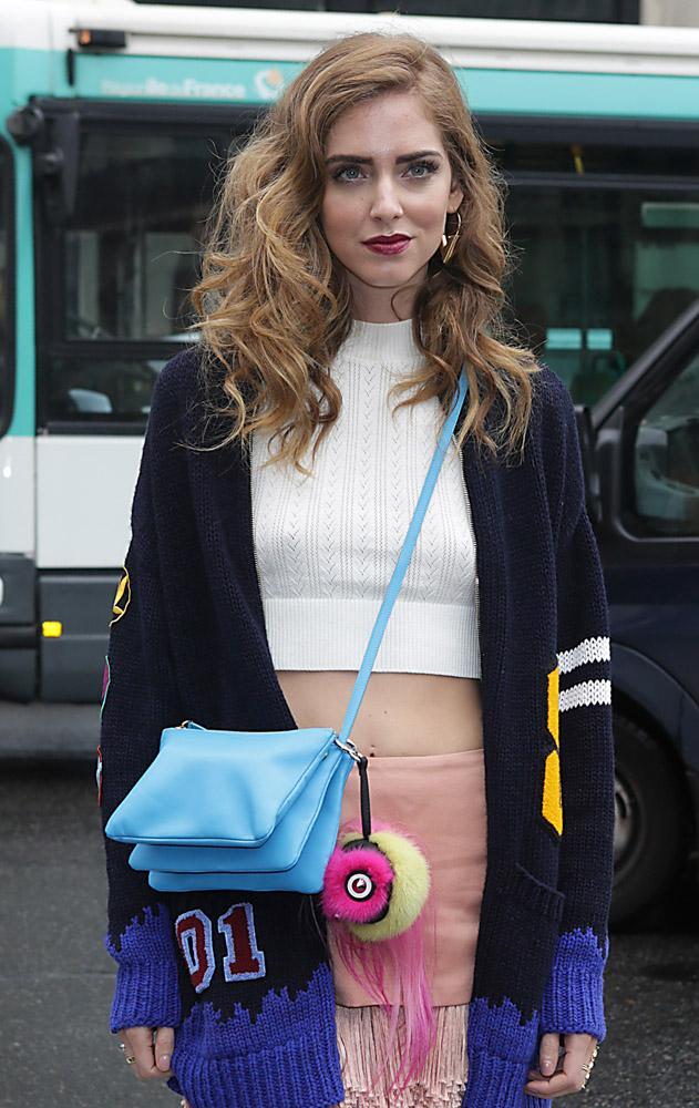 Celebrity Handbags Paris Fashion Week Spring 2015-45