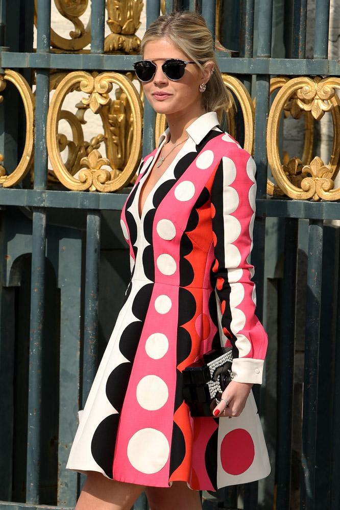 Celebrity Handbags Paris Fashion Week Spring 2015-48