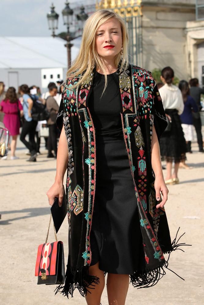 Celebrity Handbags Paris Fashion Week Spring 2015-49