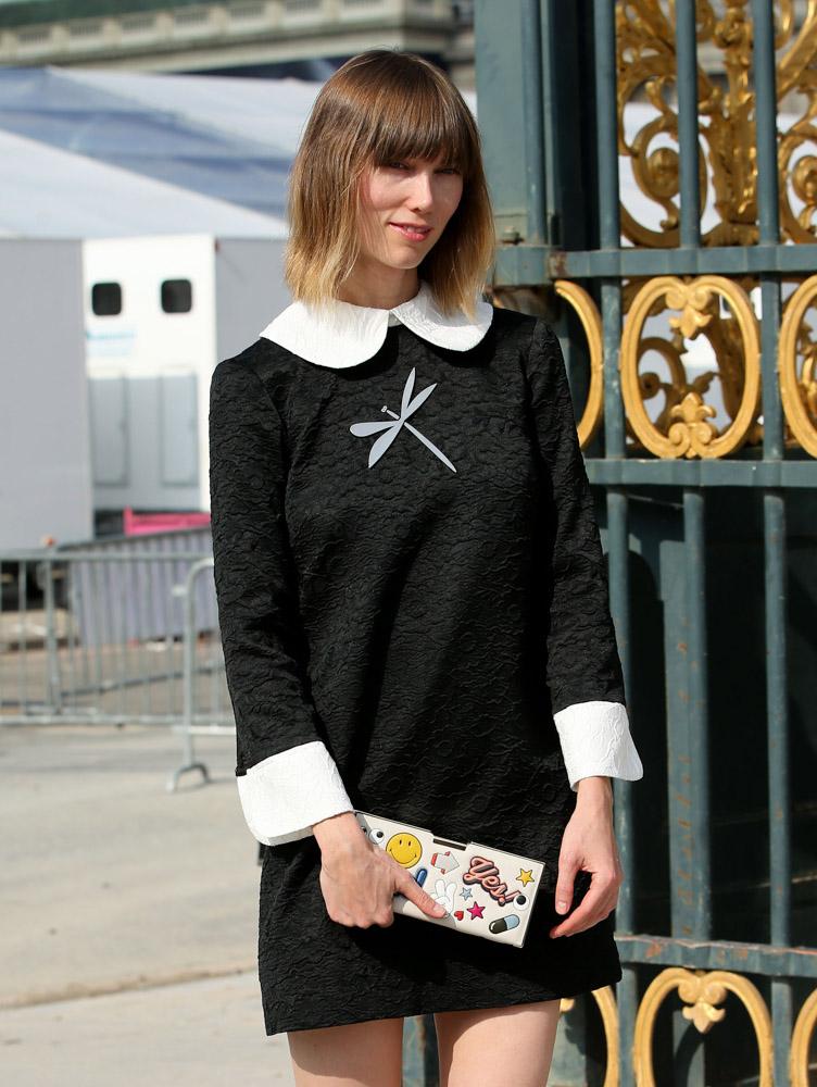 Celebrity Handbags Paris Fashion Week Spring 2015-51