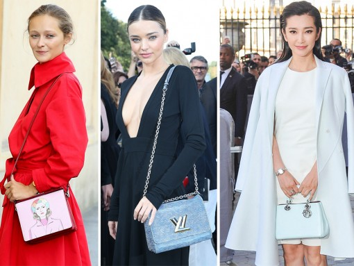 75+ Bags and the Celebs Who Carried Them at Paris Fashion Week Spring 2015
