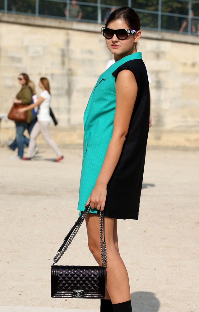 Celebrity Handbags Paris Fashion Week Spring 2015-52