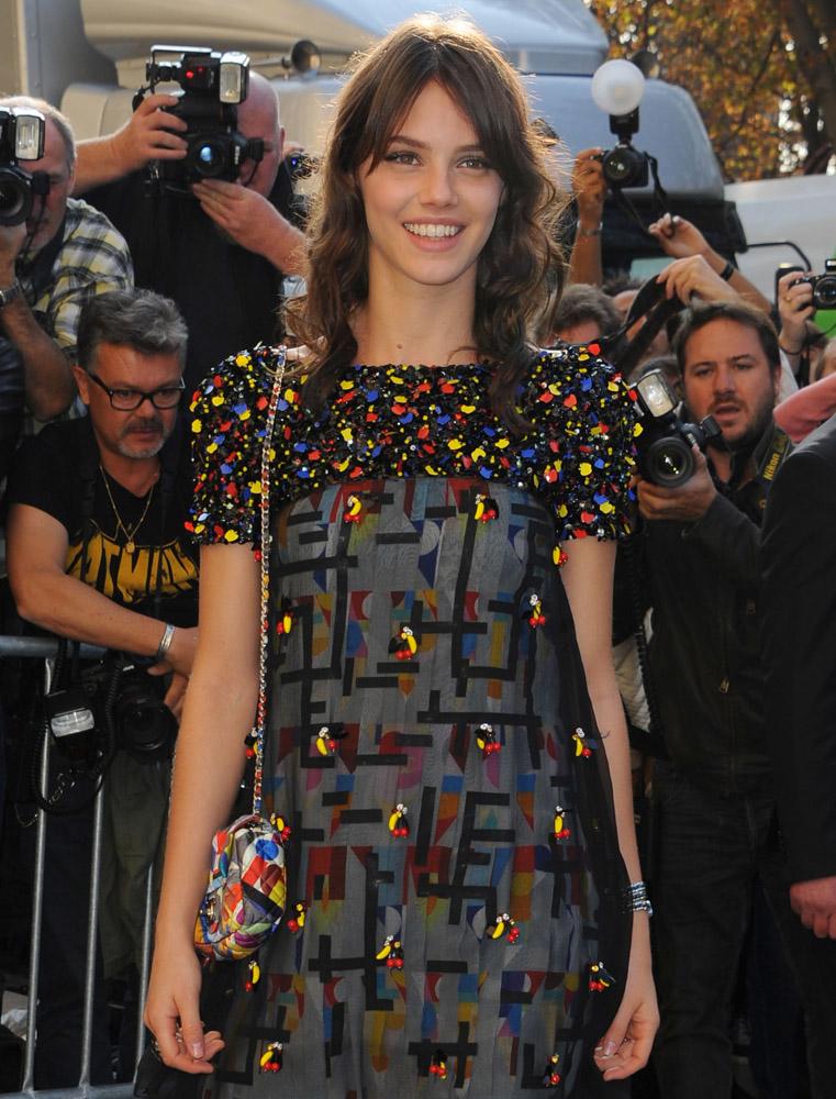 Celebrity Handbags Paris Fashion Week Spring 2015-55