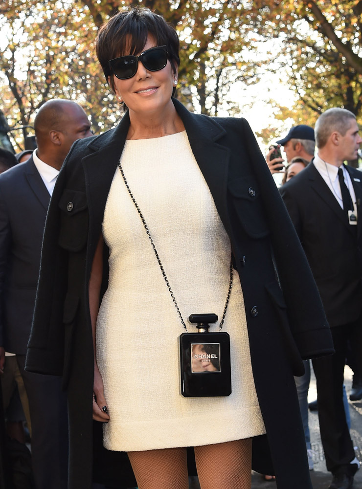 Celebrity Handbags Paris Fashion Week Spring 2015-58