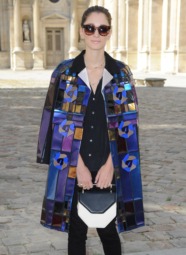 Celebrity Handbags Paris Fashion Week Spring 2015-68