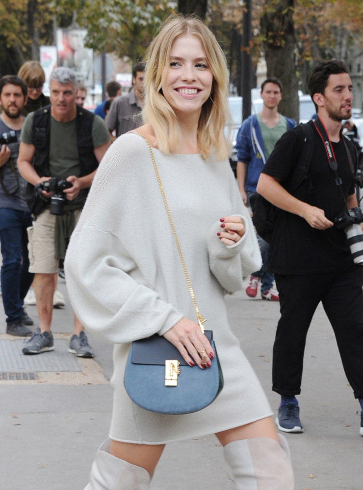 Celebrity Handbags Paris Fashion Week Spring 2015-71