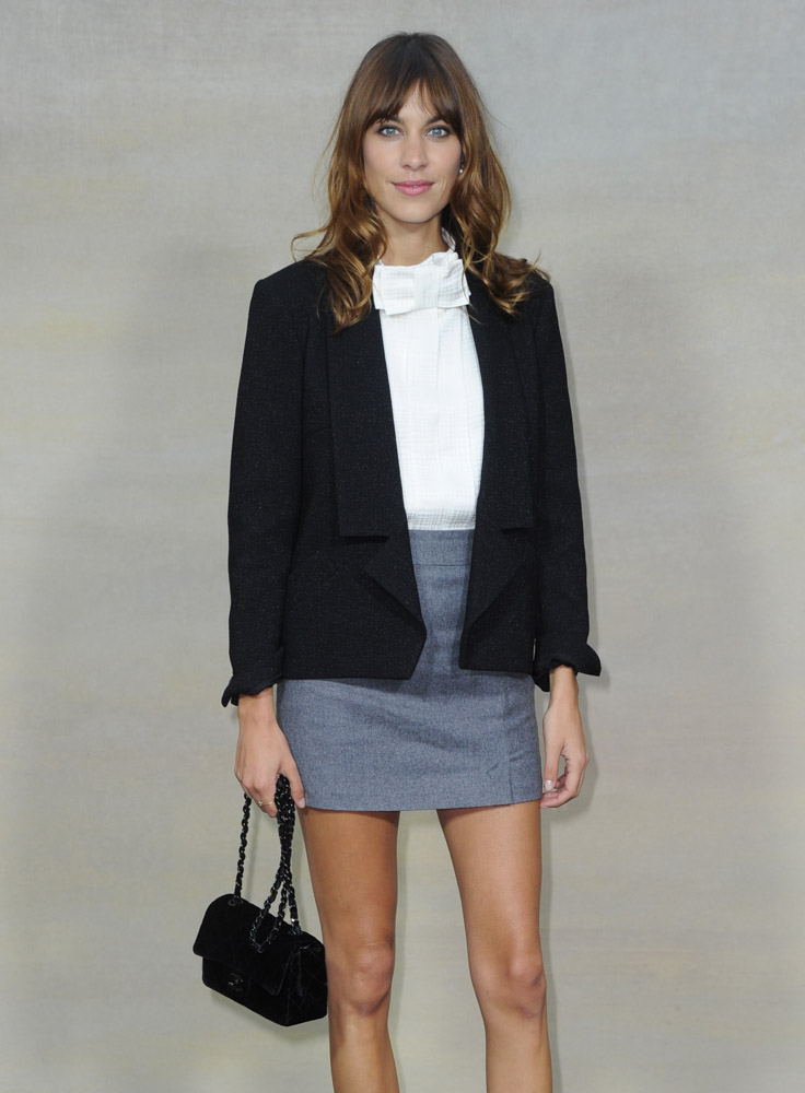 Celebrity Handbags Paris Fashion Week Spring 2015-74