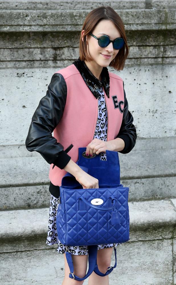 Celebrity Handbags Paris Fashion Week Spring 2015-9